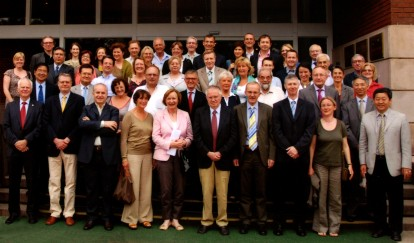 CIUTI delegates at the General Assembly 2011 in Beijing